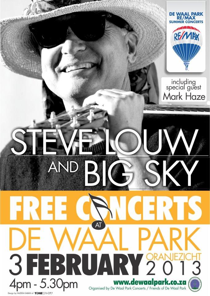 De Waal Park, 3 February 2013