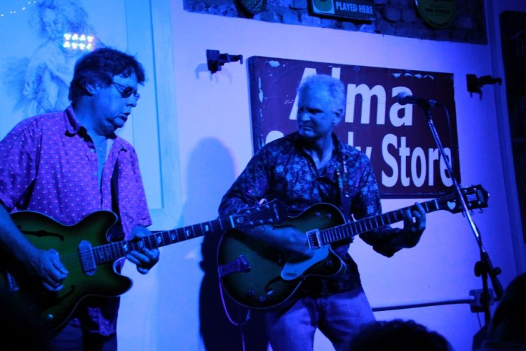 Steve Louw and Willem Moller at Alma Cafe