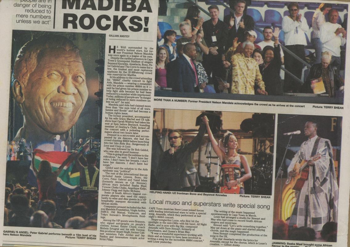 Madiba Rocks!