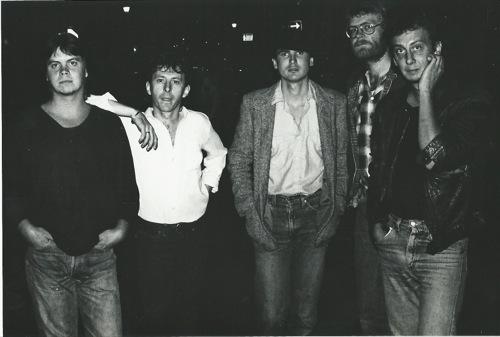 All Night Radio (l-to-r): Nico Burger, Ronnie Milne, Steve Louw, Rob Nagel, Pitchie Rommelaere