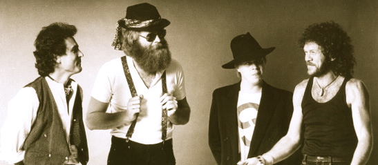 All Night Radio (l-to-r): Steve Louw, Rob Nagel, Nico Burger, Bokkie de Beer