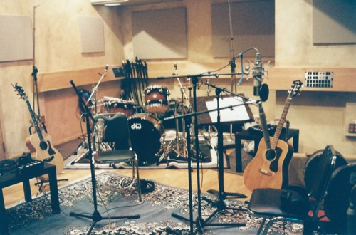 In studio recording Horizon.
