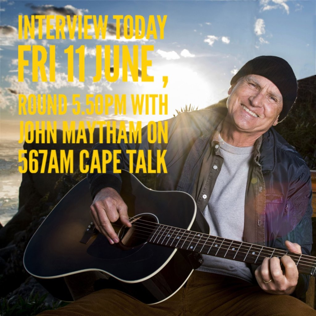 Interview Friday 11th June 2021 on Cape Talk